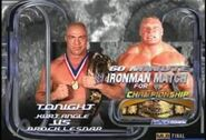 Kurt Angle vs Brock Lesnar