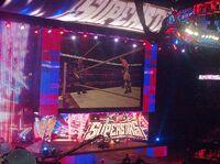 WWE Superstars cenário