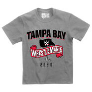 WrestleMania 36 Sports Style Youth Grey T-Shirt