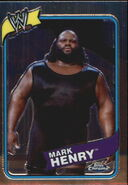 2008 WWE Heritage III Chrome Trading Cards Mark Henry 20