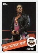 2015 WWE Heritage Wrestling Cards (Topps) Bret Hart 6
