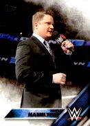2016 WWE (Topps) Then, Now, Forever Greg Hamilton 122