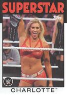 2016 WWE Heritage Wrestling Cards (Topps) Charlotte 44