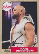 2017 WWE Heritage Wrestling Cards (Topps) Karl Anderson 24