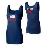 John Cena You Can't Stop Me Blue Women's Tank Top