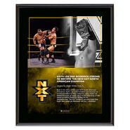 Keith Lee North American Champion 10 x 13 Limited Edition Plaque