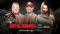 RR 15 Triple Threat Match