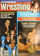 Sports Review Wrestling - August 1984