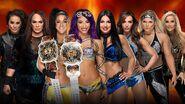 WM 35 IIconics v Boss n Hug v Jax Tamina v Natalya Phoenix
