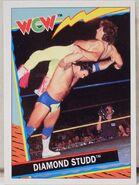 1992 WCW Trading Cards (Topps) Diamond Studd (No.18)