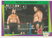 1995 WWF Wrestling Trading Cards (Merlin) Head Shrinkers 123