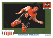 2008 WWE Heritage IV Trading Cards (Topps) Super Crazy 48