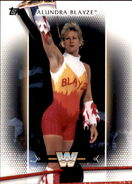 2017 WWE Women's Division (Topps) Alundra Blayze 37