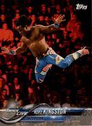 2018 WWE Wrestling Cards (Topps) Kofi Kingston 48