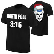 Stone Cold Steve Austin North Pole 316 Holiday T-Shirt