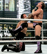 Taker double chokeslam elimation chamber