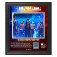 Team SmackDown Survivor Series 2019 15x17 Limited Edition Plaque