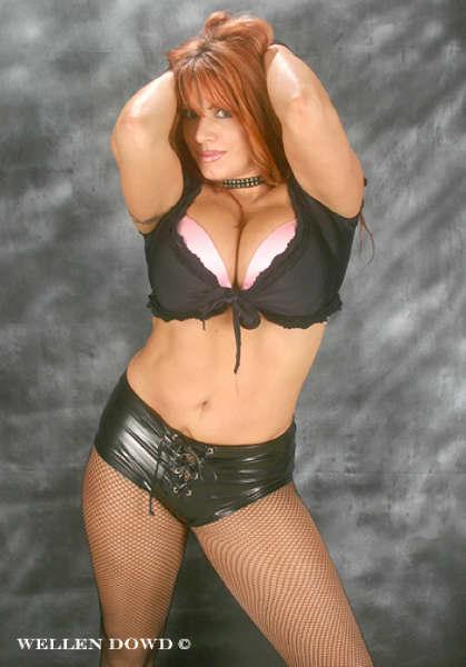 pro wrestling babes nude