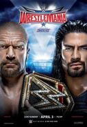 WrestleMania XXXII poster