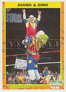 1995 WWF Wrestling Trading Cards (Merlin) Doink & Dink 153