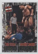 2001 WWF RAW Is War (Fleer) The Rock vs. Undertaker 85