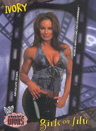 2002 WWE Absolute Divas (Fleer) Ivory 85