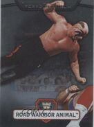 2010 WWE Platinum Trading Cards Road Warrior Animal 19