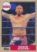 2017 WWE Heritage Wrestling Cards (Topps) Heath Slater 49