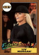 2017 WWE Heritage Wrestling Cards (Topps) Liv Morgan 7