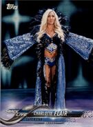 2018 WWE Wrestling Cards (Topps) Charlotte Flair 24