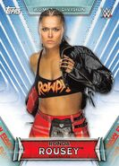 2019 WWE Women's Division (Topps) Ronda Rousey 11
