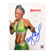 Bayley Signed 8 x 10 Photo