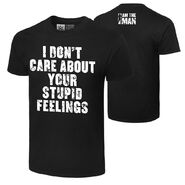 Becky Lynch I Don't Care About Your Feelings Authentic T-Shirt
