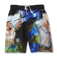 John Cena Neon Youth Swim Trunks