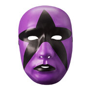 Stardust Purple Plastic Mask