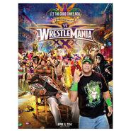 WrestleMania 30 Poster