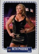 2008 WWE Heritage IV Trading Cards (Topps) Beth Phoenix 57