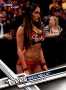 2017 WWE (Topps) Then, Now, Forever Nikki Bella 156