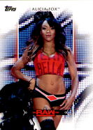 2017 WWE Women's Division (Topps) Alicia Fox 14