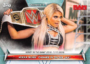 2019 WWE Women's Division (Topps) Alexa Bliss 79