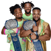 The New Day WWE Smackdown Tag Team Championship