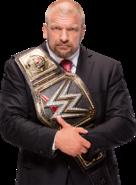 Triple h wwe world heavyweight campion by nibble t-d9r3hsd