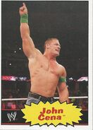 2012 WWE Heritage Trading Cards John Cena 19