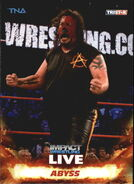 2013 TNA Impact Wrestling Live Trading Cards (Tristar) Abyss 70