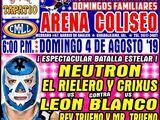 CMLL Guadalajara Domingos (August 4, 2019)
