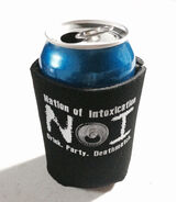 Nation of Intoxication Can Koozie