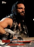 2018 WWE Wrestling Cards (Topps) Elias 31