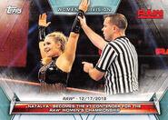 2019 WWE Women's Division (Topps) Natalya 97