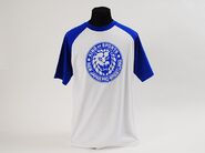 Blue 'King Of Sports' Classic Lion Mark Baseball Sleeve T-Shirt