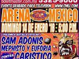 CMLL Domingos Arena Mexico (January 14, 2018)